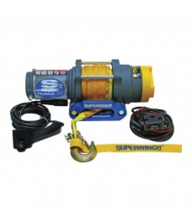 Superwinch 12 Volt ATV Winch - 3500-Lb. Capacity, Synthetic Rope