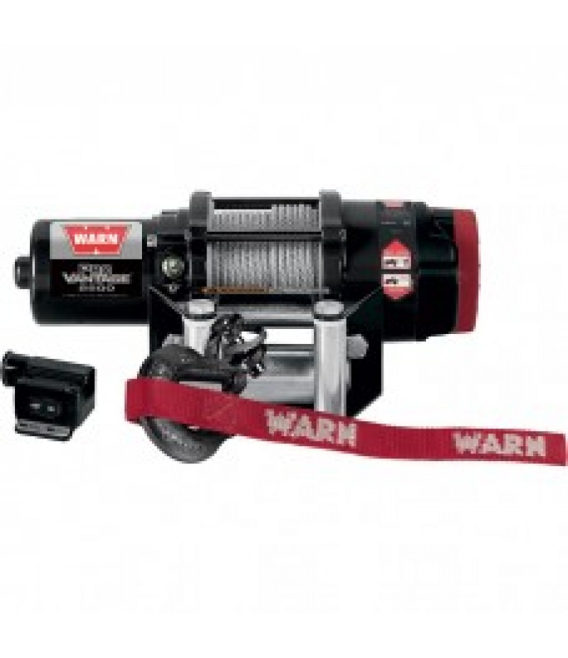 Warn ProVantage 2500 Series 12 Volt ATV Winch - With Steel Wire Rope, 2500-Lb. Capacity