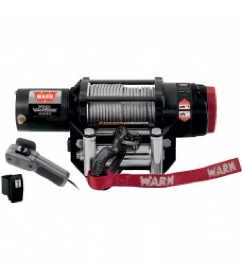 Warn ProVantage 4500 Series 12 Volt ATV Winch - With Steel Wire Rope, 4,500-Lb. Capacity