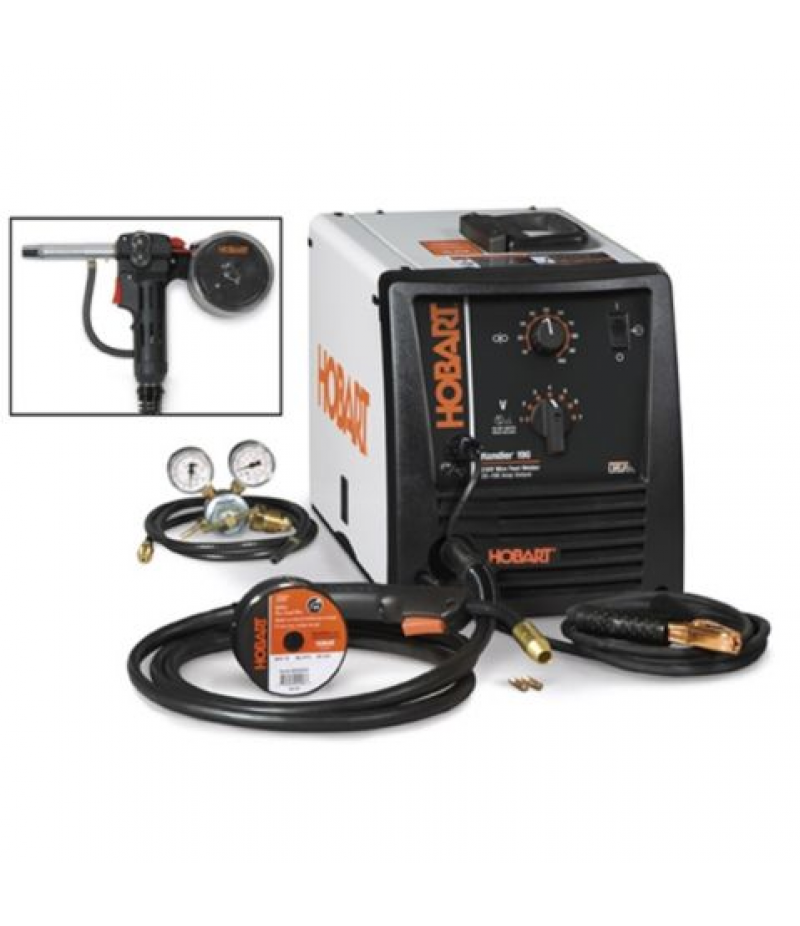 Hobart Handler 190 MIG Welder with Spool Gun Package