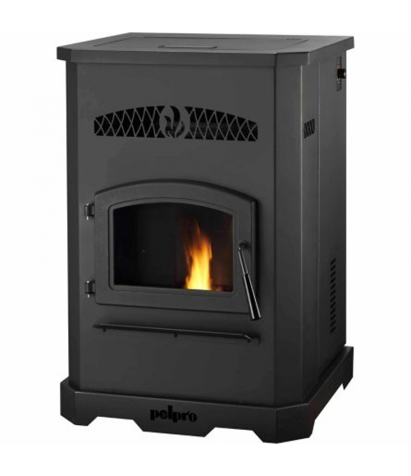 PelPro PP130 Pellet Stove with Single Blower, 2,200 Sq Ft.