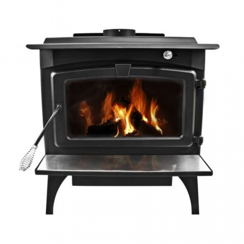 Pleasant Hearth EPA Certified Wood-Burning Stove with Variable Blower, 2,200 sq. ft.