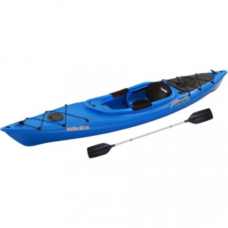 Sun Dolphin Aruba 12 ft. SS Kayak with Paddle, Blue