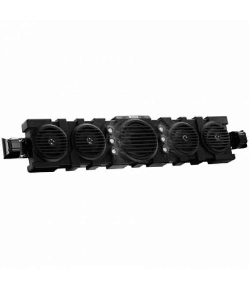 Boss Audio Reflex 40 in. IPX5 Rated Weatherproof Amplified Bluetooth UTV Audio System